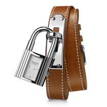 Hermès Staal 20mm Quartz 023673WW00 nieuw