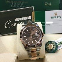 Rolex Cally - 2017 New Model DATEJUST II126301 Brown Stick [NEW]
