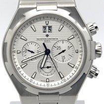 Vacheron Constantin Overseas Chronograph Silver Dial 49150/b01a