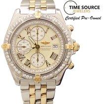 Breitling Crosswind Automatic 18K Gold & SS Diamond B13355 Watch