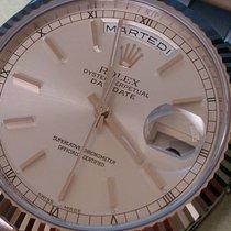 Rolex DAYDATE WEISSGOLD REF 118239 ++NOS++ B&P foliert