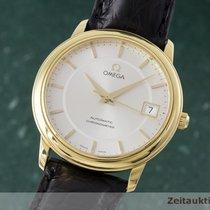 Omega 18k Gold De Ville Chronometer Herrenuhr Automatik 46003102