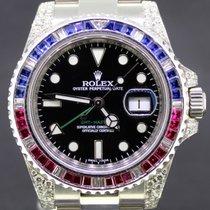 Ρολεξ (Rolex) GMT-Master II  40MM set diamonds gem stones ...