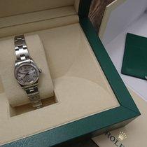 ロレックス (Rolex) Oyster Perpetual Ladies with silver diamond dial