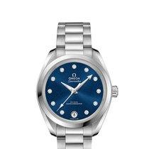 Omega Seamaster Aqua Terra neu Automatik Uhr mit Original-Box und Original-Papieren 220.10.34.20.53.001