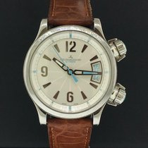 Jaeger-LeCoultre Master Compressor Lady Automatic Stahl 36mm Braun Arabisch