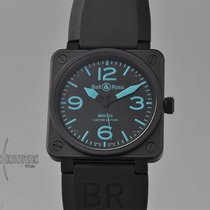 Bell & Ross Steel 46.5mm Automatic BR01-92-BLEU pre-owned