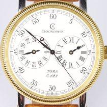 Chronoswiss Tora Gold/Steel 38mm Arabic numerals
