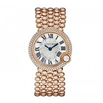 Cartier Ballon Blanc Złoto różowe 30mm Masa perłowa Rzymskie