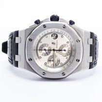 Audemars Piguet Royal Oak Offshore Chronograph Aço 42mm Prata Árabes Brasil, 22410000