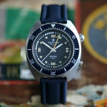 Aquastar 42mm Automatic 1967 pre-owned Blue