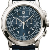Patek Philippe 5070P-001 Platina 2009 Chronograph 42mm tweedehands