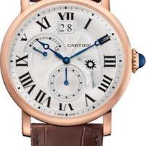 Cartier Rotonde de Cartier Złoto różowe Srebrny
