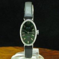 Enicar 27.2mm Handaufzug gebraucht Grün