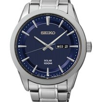 Seiko 43mm Quartz SNE361P1 new