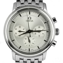 Omega De Ville Co-Axial Steel 35mm Silver United States of America, New York, Lynbrook