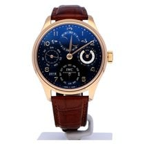 IWC IW502119 Rose gold 2007 Portuguese Perpetual Calendar 44mm pre-owned