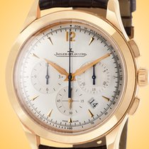 Jaeger-LeCoultre Master Chronograph Rose gold 40mm Silver United States of America, Illinois, Northfield