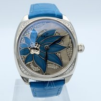 Zenith Star Oro blanco 37mm Azul