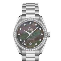 Omega Seamaster Aqua Terra Steel Mother of pearl