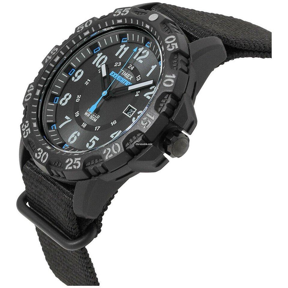 Quartz Movement For Gallatin Black Expedition Timex Dial Men's Nm8nwv0
