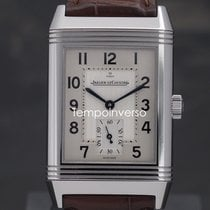 Jaeger-LeCoultre Reverso Grande Taille Steel 42mm Silver Arabic numerals United Kingdom, London, Paris, Brussels & Barcelona face to face delivery only - Other countries delivery with Brinks & DHL Express