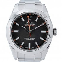 Rolex Milgauss Steel 40mm Black No numerals UAE, Dubai