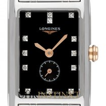 Longines DolceVita Steel 20.8mm Black