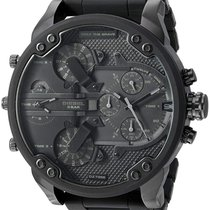 Diesel Acero 55mm Cuarzo Diesel Men's Watch Mr Daddy 2.0 DZ7396 nuevo