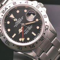 Rolex Explorer II Steel 40mm Black No numerals Singapore, Singapore