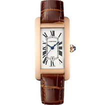 Cartier Tank Américaine new 2019 Automatic Watch with original box and original papers W2620030