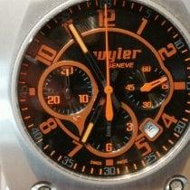 Wyler Code R Titan 44mm Schwarz Arabisch Schweiz, Biel