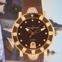 Ulysse Nardin Lady Diver Rose gold 40mm Brown No numerals