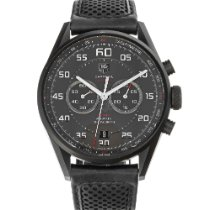 TAG Heuer Carrera Calibre 36 Titanium 43mm Black Arabic numerals United States of America, Maryland, Baltimore, MD