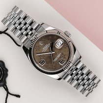 Rolex Datejust 116234 Very good Gold/Steel 36mm Automatic