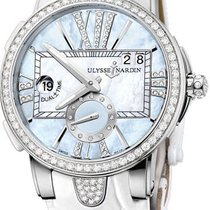 Ulysse Nardin Executive Dual Time Lady Steel 50mm United States of America, New York, Brooklyn
