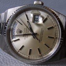 Rolex Day-Date Oysterquartz Weißgold 36mm Silber Deutschland, Niedersachsen