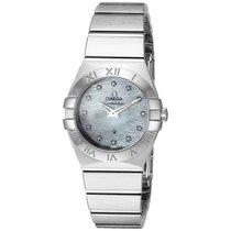 Omega Constellation MOP Diamond Dial Ladies Watch 123.10.24.60...