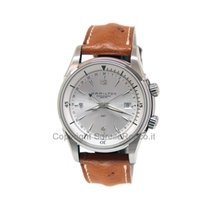 Hamilton Jazzmaster Traveler Steel 42mm Grey Arabic numerals