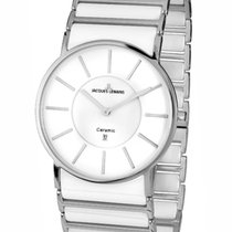 Jacques Lemans High Tech Ceramic York Steel 39mm White