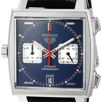 TAG Heuer Monaco Calibre 11 Chronograph Automatic 39MM Men...