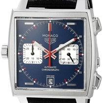 TAG Heuer Monaco Calibre 11 Chronograph Automatic 39MM Men...