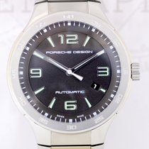 Porsche Design pre-owned Automatic 44.5mm Black Sapphire crystal 10 ATM