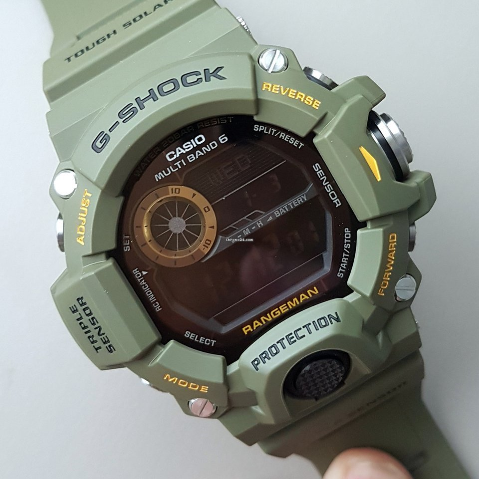 9250ce30e542 Casio G-Shock Rangeman for R 4 596 for sale from a Trusted Seller on  Chrono24