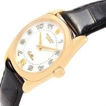 Rolex Cellini Danaos 18k Yellow Gold White Dial Ladies Watch 6229