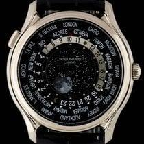 百達翡麗 Anniversary World Time Moon White Gold 5575G-001