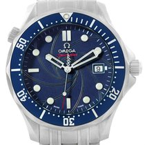 Omega Seamaster Bond 40 Years Gun Logo Le Watch 2537.80.00 Box...