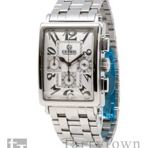 Gevril Steel 34mm Automatic 5010 new