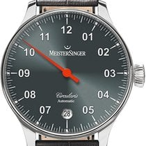 Meistersinger Stal 43mm Automatyczny CC907 nowość
