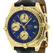 Breitling Chronomat Gelbgold 40mm Blau Schweiz, Lugano
